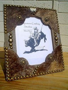 BOOTS SPUR STARS 8X10 WESTERN DECOR COWBOY WOOD FRAME | Western Decor by Signature Cowboy