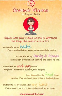 5 Gratitude Mantras to Repeat Daily