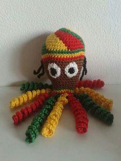 14 Beste Afbeeldingen Van Inktvissen Crochet Octopus Octopus En