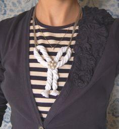 Rope Necklace (and bonus belt!)