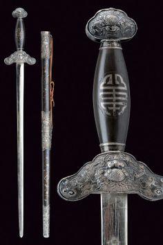 A Jian (sword) provenance: China dating: circa 1900