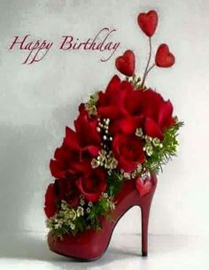 Roses are Red Violets are Blue,Today is your SPECIAL Day, HAPPY BIRTHDAY TO YOU!!!