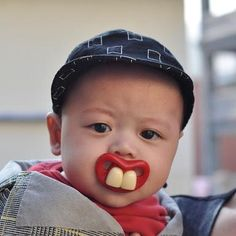 buck teeth dummy $6.99 available at www.facebook/AMsbabystore