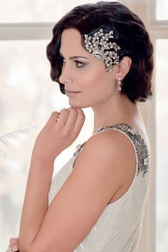 Gorgeous Gatsby glamour! | Deco Vine Hair Comb | Twenties Heirloom Collection by Glitzy Secrets