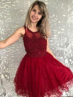 Formal Dresses, Red, Fashion, Dresses For Formal, Moda, Formal Gowns, Fashion Styles, Formal Dress, Gowns