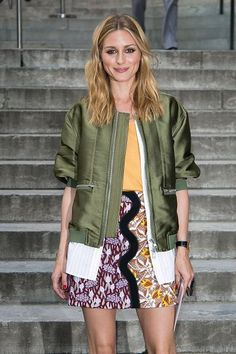 Olivia Palermo arrives at the Giambattista Valli Haute Couture Fall 2016 show as part of Paris Fashion Week on July 4, 2016 in Paris