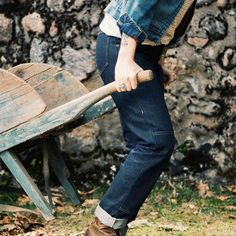 Women designed work jeans