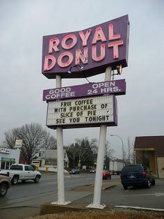 Danville, IL Royal Donut. BEST. DONUTS. EVER! AHHHHH where did you find this?!?!