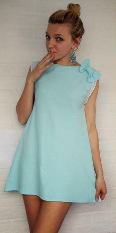 blondeinspires: Po szlafrokowa sukienka trapezowa
