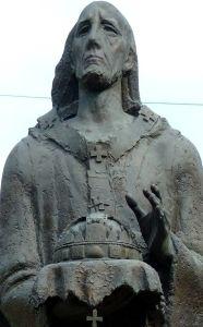 Saint Astricus of Esztergom Anastasia, Cristiano, Saints, Lion Sculpture, Batman, Statue, Superhero, Profile, Fictional Characters