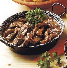 Borsos tokány Cod Fish, Goulash, Starters, Stew, Entrees, Pork, Meat, Cooking, Recipes