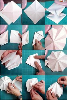 Paper Crafts Origami, Diy Paper, Paper Crafting, Origami Christmas Ornament, Christmas Diy, Christmas Ornaments, Origami Lampshade, Christmas Crafts, Christmas Decorations