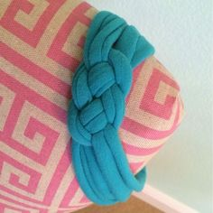 The Blonde Side: DIY Jersey Sailor Knot Headband