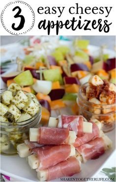3 Easy Cheesy Appetizers {Using Cheese Sticks!} – monthoms studio 3 Easy Cheesy Appetizers {Using Cheese Sticks!} Easy, elegant and SO simple, these 3 Easy Cheese Appetizers are so delicious no one will believe that they started out with cheese sticks! Cold Appetizers, Cheese Appetizers, Finger Food Appetizers, Easy Summer Appetizers, Italian Appetizers Easy, Wine Party Appetizers, Elegant Appetizers, Wedding Appetizers, Toothpick Appetizers