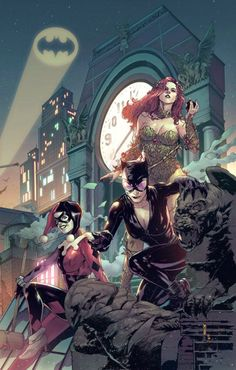 Gotham's Finest: Harley Quinn, Poison Ivy, and Catwoman