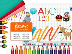 Draw and Tell HD - by Duck Duck Moose by Duck Duck Moose, Inc.
