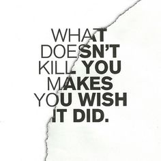 Often true