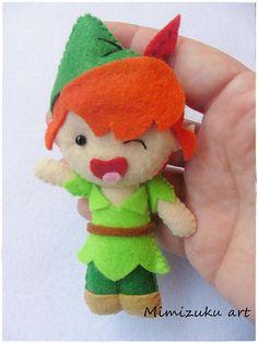 Peter Pan móvil para bebé babyroomdecor Móvil de madera