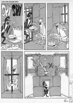 spy vs spy comics | Art: The magnificent Antonia Prohias' Spy Vs Spy…