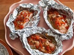 Salmon Baked in Foil from FoodNetwork.com