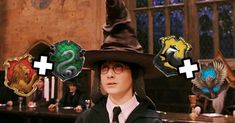 Everyone Is A Combination Of Two Hogwarts Houses – Here's Yours I got: Slytherin and Hufflepuff