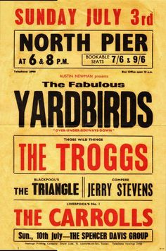 1966 - The Yardbirds