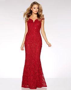 95c698dc9 Quiz Lace Sequin Bardot Maxu Dress Moda