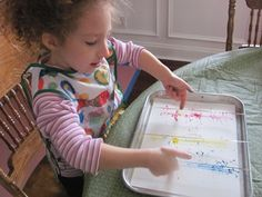 Looks too messy for inside the library, but may be fun for an outdoor craft.