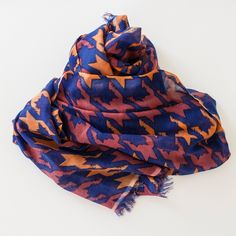 Cats & Ghosts Catstooth2 Cashmere Scarf