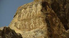 The Musical Stone of Qobustan -- Qobustan, Azerbaijan. Europe.