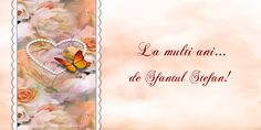 La multi ani... de Sfantul Stefan! Happy Birthday Greeting Card, Tote Bag, Sf, Christmas, Quotes, Xmas, Quotations, Totes, Navidad
