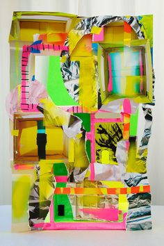 The Patternbank team are loving these colourful, abstract forms by New York based artist Erin O'Keefe. Using photographs as her final art pieces, O'Keefe e