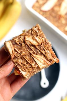 These Morning Glory Baked Oatmeal Bars are a tasty, filling, andhealthybreakfast packed with whole grains and warm fall flavors. They double as agrab-and go snack that's kid-approved! Vegan and gluten-free.