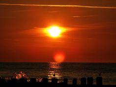 Niechorze 2oo8 - zachód słońca