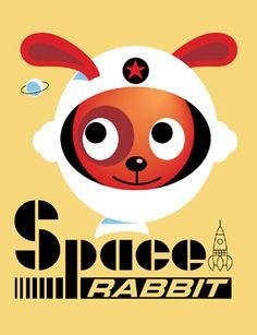 Space Rabbit by Ingela P Arrhenius