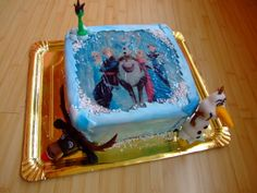 FROZEN CAKE Frozen Cake, Butter Dish, Cakes, Dishes, Desserts, Food, Tailgate Desserts, Deserts, Cake Makers
