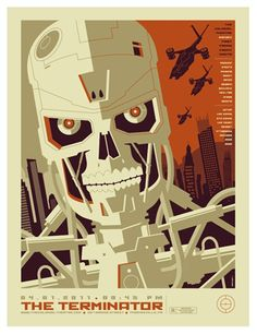 Terminator fanArt Poster