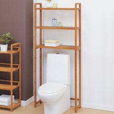 "OIA Lohas 28"" x 66.5"" Bathroom Shelf 