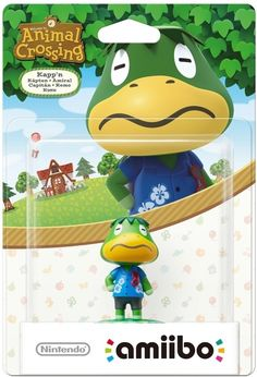 Kapp'n amiibo (animal crossing)
