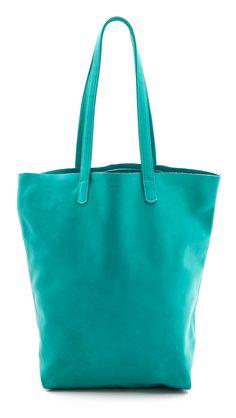 Turquoise Baggu Basic Tote