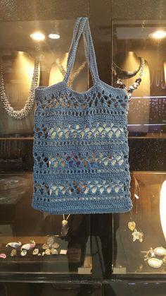 Bag Pattern Free, Pouch Pattern, Crochet Classes, Learn To Crochet, Crochet Stitches, Knit Crochet, Crochet Patterns, Crochet Market Bag, Linen Bag