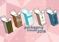 #Packaging: 5 #trends to keep an eye on in 2016 by #Packly