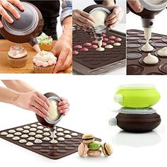RevoLity Pastry Lcing Piping Bag Nozzle Tips Fondant Cake Sugar Craft Decorating Tool Set  Cake Decorating Pen Style No5 -- Check out this great product. (This is an affiliate link) #CakePopMiniCakeMakers