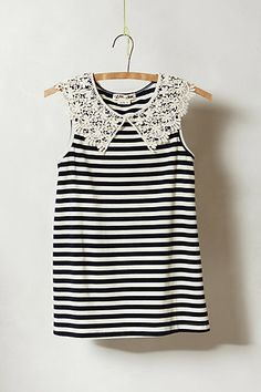 collared skipper tank / anthropologie