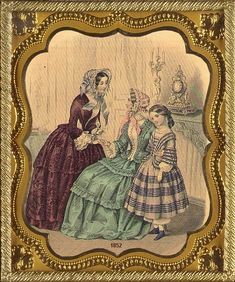 Victorian Fashion - Antique Photo Album