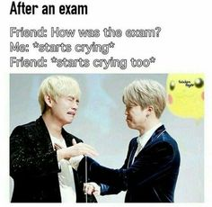 That moment when you know you failed you exam....