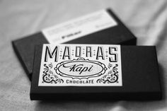 Chocolate bar in India. Designed by Alok Nanda and Company for Filter
