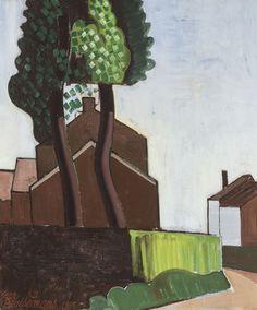 Jean Brusselmans (Belgian, 1884-1953) A Bend in the Road (Le tournant de la route), 1935
