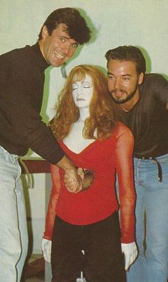 Behind the scenes on Death Becomes Her