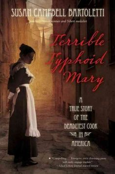 J 921 MAL. In a riveting biography that reads like a crime novel, a Sibert Medalist and Newbery-Honor winner uncovers the true story of Mary Mallon, a.k.a. Typhoid Mary, one of the most notorious and misunderstood women in American history.